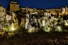 Cuelga la noche en Cuenca