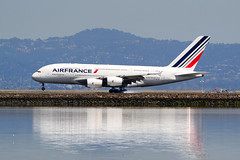Air France F-HPJB at SFO (Ian E. Abbott) Tags: airbusa380861 airbusa380 airbus a380861 a380 040 airfrance fhpjb sanfranciscointernationalairport sanfranciscoairport ksfo sfo