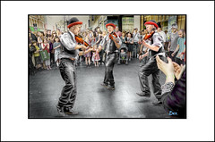 FIDDLERS THREE (DEREK HYAMSON . OVER 5 AND A HALF MILLION) Tags: candids hdr liverpool fiddlers