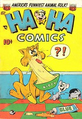 Ha Ha 91 (Michael Vance1) Tags: art adventure artist anthology comics comicbooks cartoonist funnyanimals fantasy funny humor goldenage