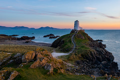 Twr Mawr Lighthouse  Llanddwyn - Anglesey - Explored 30/3/17 (Christopher Pope Photography) Tags: wales christopherpopephotography wwwchristopherpopephotographycom anglesey sunset llanddwyn lighthouse seascape chrispope twrmawrlighthouse dusk