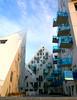 Isbjerget - The Iceberg (Jaedde & Sis) Tags: isbjerget blue balconies triangle geometric challengeyouwinner cyunanimous pregamewinner challengegamewinner perpetualwinner