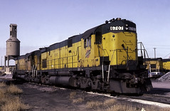 If the Ride Smooth's out Were Probably on the Ground (ac1756) Tags: cnw northwestern alco c628 6707 escanaba michigan