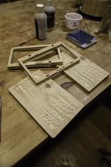Backgammon board making (Lenny&Meriel) Tags: make makes backgammon cnc