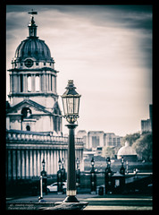 Lamp Light.... (kirby126) Tags: greenwichlonewalk090417evening greenwich lamp post light lightroom canon6d canon70200f4i history evening thames southeast london great britain navy royal