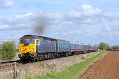 47812 Uffington (Lincs) (NB Railways) Tags: uffington lincolnshire england 47812 rog railoperationsgroup sulzer class47 brushtype4 321401 321404 class321