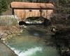 LOR268 Lorzentobel Covered Timber Bridge over the Lorze River, Baar - Menzingen, Canton of Zug, Switzerland