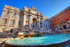 Fontana di Trevi (giannipiras555) Tags: fontana acqua roma italia statua nikon