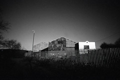 Edgelands (pho-Tony) Tags: lomolcw fujineopan400 400 iso400 black white blackandwhite bw monochrome lomography lomolcwide lcwide blend 35mm 17mm fullframe halfframe minigon 1 ultrawideangle lens minigon17mm superwide ultrawide rodinal expired