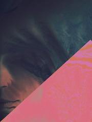 impossível (meeeeeeeeeel) Tags: moody dark noir misterioso mysterious mystery woman boca mouth digitalart art freaky crazy trippy iphone iphoneography pink portrait abstract surreal weird decim8 glitch