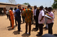 English Club Visit @ Pehunco_3.29.2017 (U.S. Embassy Cotonou) Tags: anglais schirm pehunco rogertete