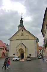 Church - rainy day in Slovenia (stevelamb007) Tags: slovenia skofjaloka church streetscene stevelamb nikon d90 tamron 1116mmf28
