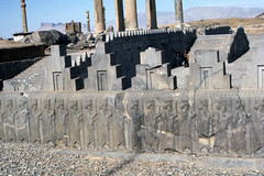 Found Photo - Iran - Persepolis - Archeological Site 16.tif (David Pirmann) Tags: iran ruins archeology persia persian unesco worldheritage xerxes parsa takhtejamshid achaemenid dpfoundphotoasia1976 persepolis