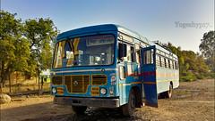 Degloor - Aloor (yogeshyp) Tags: msrtc msrtcschoolbus maharashtrastatetransport msrtcmidibus degloordepotbus deglooraloorstbus