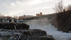 Winooski River (BenWestPhotography) Tags: canon canon5d 5d canonef70200mmf4lusm 70200f4l lseries dxo opticspro10 vt vermont winooski winooskivt winooskiriver winooskifalls river water sunrise morning spring