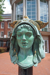 Beloved Woman of Justice (AJC2911) Tags: audrey flack sculpture sunshine courthouse beloved court head justice tennessee woman knoxville sun