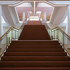 Museum Ludwig (Werner Schnell Images (2.stream)) Tags: ws museum ludwig köln cologne treppe treppenhaus stairs staircase
