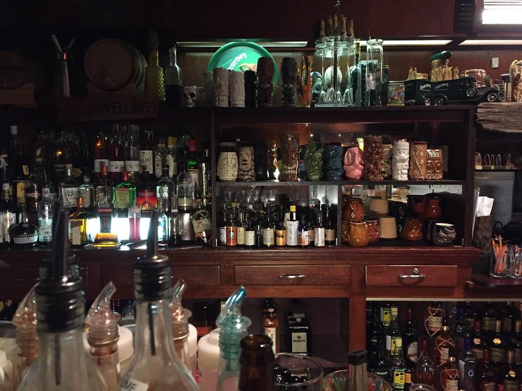 Porco Lounge Tiki Room Menu