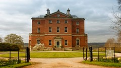 A Palladian beauty - Barlaston Hall (jeannie debs) Tags: palladian beauty hall old historic architecture windows chimneys gardens flowers valley building magnolia tree white daffodils springtime neoclassical stylish