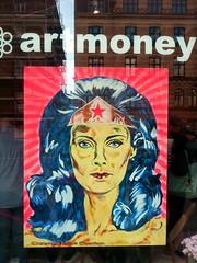 Wonder Woman Lynda Carter painted by Mr Art Money Lars Kramer (sms88aec) Tags: wonder woman lynda carter painted by mr art money lars kramer