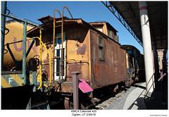 KMCX Caboose 425 (Robert W. Thomson) Tags: kmcx kmc kennecotcopper caboose cab cabcar cabincar hack train trains traincar railcar rollingstock railroad railway ogden utah