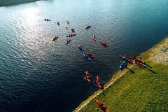 Spring Kayaking II (Movement Spontaneous) Tags: jelgava kayaking movement spontaneous latvia lv