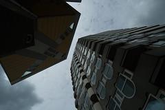 "Blaakse Bos & Blaaktoren ""Het Potlood"" (Fotorob) Tags: zuidholland paalwoning blomp woningenenwoningbcomplx nederland architecture meergezinsgebouw flatgebouw structuralisme eengezinswoning stijl architectura architectuur rotterdam"
