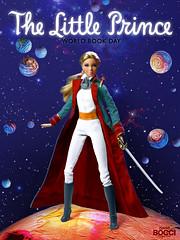 World Book Day (The Little Prince) (davidbocci.es/refugiorosa) Tags: the little prince principito le petit book libro barbie mattel fashion doll muñeca refugio rosa david bocci ooak