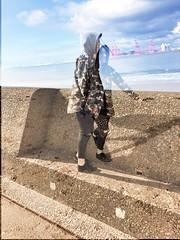 #faded #doubleexposure #camo #coat #handm #seaside #ocean #newbrighton #rocks #hood #teen #teenager #waves #green#moss #two #wash #convert #snapseed #twopeople #brown #brownhair #rockpool #photography (laurenbridge12) Tags: faded doubleexposure camo coat handm seaside ocean newbrighton rocks hood teen teenager waves green moss two wash convert snapseed twopeople brown brownhair rockpool photography