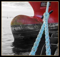 PROA - DUOTONO (MONTXO-DONOSTIA) Tags: barco bulbo proa duotono creativas montxodonostia