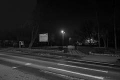 Knurów (nightmareck) Tags: knurów śląskie górnyśląsk silesia polska poland europa europe silhouette silhouettephotography czarnobiały czarnobiałe blackandwhite bw fujifilm fuji xe1 apsc xtrans xmount mirrorless bezlusterkowiec xf18mm xf18mmf20r fujinon pancakelens fotografianocna bezstatywu night handheld