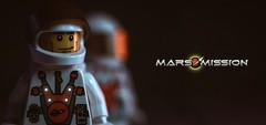 {Mars Mission MMXLV} (Bricks Addiction) Tags: lego marsmission mars lifeonmars spaceman space bricksaddiction afol