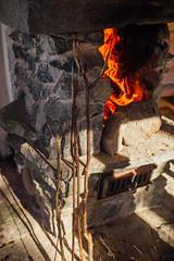 Tervalepikon_torpat-takka-EetuLinnankivi (OutdoorsFi) Tags: mennäänmetsään sysmä tervalepikontorpat campfire