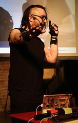 Drake Music DMLab Challenge: Kris Halpin (Emma Gibbs) Tags: drakemusic dmlabchallenge rd randd researchanddevelopment disabledmusicians music disability access hackers technology tech hackathons launch inventions innovation engineering technologists musicians mimugloves gestures krishalpin