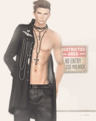 ad acta...? (Marcus Wisser) Tags: bauhausmovement bento clothing daniel doux fashion gabriel gacha hair jacket maleclothing malefashion mandala marcuslefevre mesh military necklace pants secondlife skin sl tableauvivant takuyajinn theepiphany