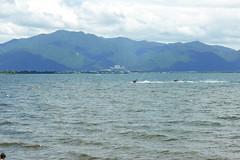 Lake Inawashiro (Stop carbon pollution) Tags: japan 日本 honshuu 本州 touhoku 東北 fukushimaken 福島県