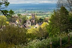 St. James' Church and Blackmore Vale, Shaftesbury, Dorset (Bob Radlinski) Tags: dorset dorsetalbum england greatbritain parkwalk shaftesbury uk travel