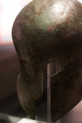 Corinthian helmet (marios_h) Tags: helmet leeds armor weapon armour militaryhistory warfare royalarmouries royalarmouriesleeds leedsroyalarmouries corinthianhelmet ancienthelmet ancientgreekhelmet historicalwarfare