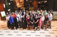 Faculty advisors and organizers before the Faculty Dinner on Monday evening (AVTC) Tags: arizona usa green unitedstates sandiego engineering hybrid eco yuma sustainability generalmotors alternativefuel usdepartmentofenergy regandigitalimagescom mylesregan ecocar2 desertprovinggrounds avtcs advancedvehicle