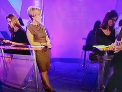 Three girls with glasses on BBC's Watchdog (GirlsWithGlassesGallery) Tags: bbc screencap watchdog researcher girlswithglasses bigglasses annerobinson girlswearingglasses boldglasses girlswithglassesontv womenwearingglassesontv threegirlswithglasses
