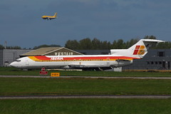 EC-CFA Boeing 727-256 (eigjb) Tags: ireland training plane fire airport aircraft aviation air may shannon service boeing wfu spotting airliner 737 iberia contractors b727 snn stored 2013 einn 727256 eccfa eista