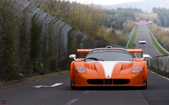 GranTurismo Nrburgring : MC12 by Edo ! (Emeric Cadart) Tags: 2 cars car by 1 xx gorgeous awesome events great competition mc event german boucle gran 12 turismo supercar mc12 edo maserati nord evo corsa supercars granturismo nordschleife nrburgring nurburgring worldcar worldcars