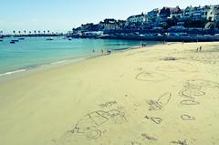 Cascais (Isabella Pirastu) Tags: ocean beach portugal sand lisboa lisbon spiaggia cascais oceano lisbona portogallo sabbia atlantico