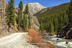 Be Still My Heart (Aspenbreeze) Tags: mountains rural river colorado silverton country mountainside kayaks mountainroad mountainstream animasriver silvertoncolorado aspenbreeze moonandbackphotography gpsetest bevzuerlein
