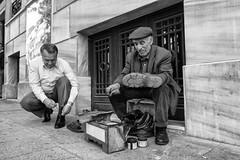 Moving shoeshine brush at work: Instanbul, turkey (Louise Lindsay) Tags: street trip streets night photography travels long exposure spice may istanbul palace bazaar topkapi mideast panorma grandbazaar 2013 51013 shseshine