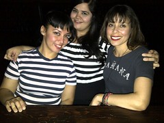 Muchachas (jaqui rivera) Tags: maana night out stripes girlsnightout themontybar