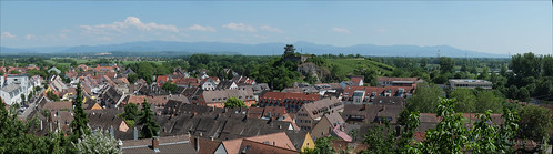 Breisach - Freiburg view direction