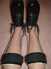 "My Model's Self Portraint ""My Legs in Short Leg Braces"" (KAFOmaker) Tags: leather foot shoe shoes control legs braces o leg confine strap cuff calf brace straps cuffs appliance buckles ankles appliances locking strappy confined bracing orthopedics afo orthopedic cuffed strapped braced legbrace orthotics cuffing orthotic legbraces legbraced legbracing orthopedicshoeswithstraps womansblacknewafopair"