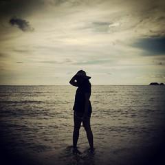 สวยยันเงา #sea #sand #sun #sky #travel #kohchang #thailand #thaistagram #instaplace #instapic