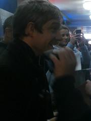 he has such an expressive face (kattabrained) Tags: wellingtonnewzealand martinfreeman worldsendpremiere